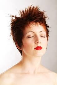 highlights in very short hair short haircut red highlights eye catching short red hairstyles