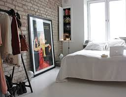chambre style loft chambre style loft mur brique grise