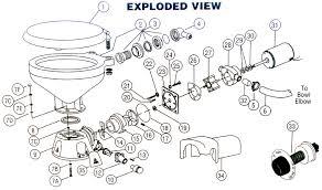 electric toilet diagram