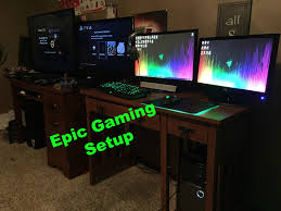 awesome 15 year old gaming setup youtube
