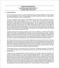 consulting proposal templates u2013 10 free word excel pdf format