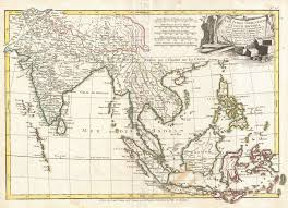 East And Southeast Asia Map by File 1770 Bonne Map Of India Southeast Asia The East Indies