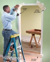 Rough Opening For 30 Inch Interior Door How To Replace An Interior Door Family Handyman