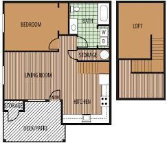 1 Bedroom Loft Apartments by 1 Bedroom Loft Home Interior Design Ideas