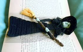 Wizard Of Oz Home Decor by Thread Crochet Pattern Wicked Witch Bookmark Decoration Wizard