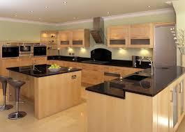 Kitchen Classic Cabinets Kitchen Room Kitchen Decoration Black Granite Countertop Brown