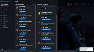 siege program can t collect challenge rewards add weekly challenges halp rainbow6