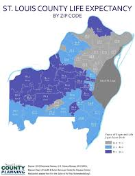 Map Of St Louis Area Life Expectancy In St Louis Depends Greatly On Geography Health