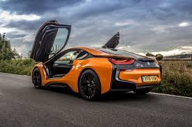 Bmw I8 Night - hybrid heaven in the frozen orange bmw i8 mr goodlife