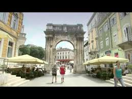 croatia pula port and city