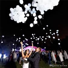 custom balloon bouquet delivery 12 inch magic led wedding ballons decorations glow in