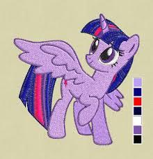Baby Twilight Sparkle Twilight Sparkle Embroidery Design My Pony Embroidery Design
