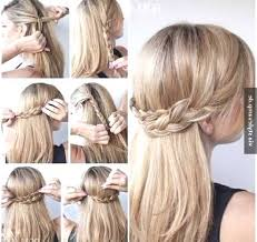 Frisuren Selber Machen Leicht Gemacht by Frisur Mit Haarband Selber Machen Http Promifrisuren Com
