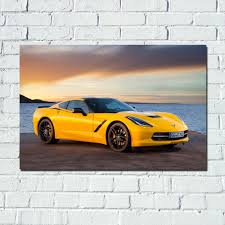 Prints For Home Decor Compare Prices On Corvette Prints Online Shopping Buy Low Price