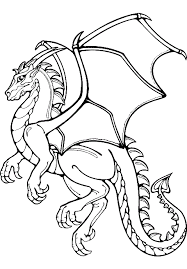 25 free printable dragon coloring pages knight