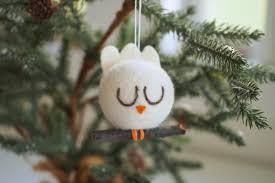 needle felted peace dove ornament the magic onions store