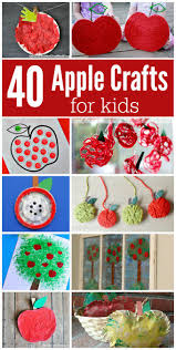 ultimate list of apple crafts for kids the resourceful mama