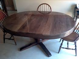 Dining Room Table Slides Enchanting Black Walnut Kitchen Table Also Furniture Solid Gallery