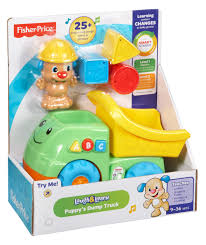 Fisher Price Toy Box Fisher Price Laugh U0026 Learn Puppy U0027s Dump Truck Walmart Com