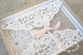 Vintage Lace Wedding Invitations Anista Designs