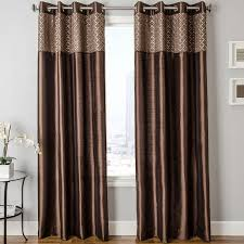 Two Tone Curtains Jcpenney Softline Home Fashions Guild Two Tone Faux Silk Grommet
