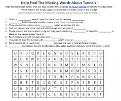 tunnel science download free printable science reading