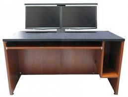 computer desk for dual monitors dual computer monitor desk mount corner with regard to stylish