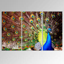 usernames for home design new design modern art peacock a painting on canvas for home