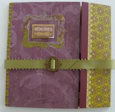 Pretty Photo Albums Making Mini Scrapbook Albums Wattle Lane