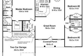 small house plans with open floor plan simple open floor house plans
