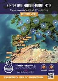 Port Of Spain Map by Trade Routes Of The Port Of Motril Granada Port Of Spain
