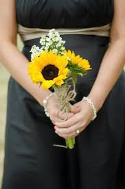 sunflower wedding bouquet sunflower wedding bouquets http simpleweddingstuff
