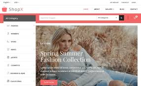 shopx free bootstrap ecommerce template xoothemes