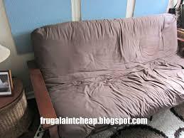 decorating grey futon cover for cozy furniture decoration ideas