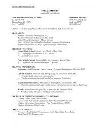 objectives for teacher resume water safety instructor sample resume promissory note sample cover letter objectives for teacher resume objectives for a objective teacher resume examples teachers objectives sample for elementary of preschool art