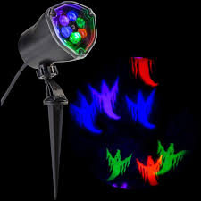 lightshow led projection chasing ghost strobe multi color