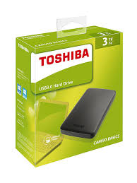 toshiba canvio basics 3tb portable external hard drive 2 5 inch