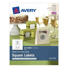 Avery 60 Labels Per Sheet Template by Amazon Com Avery Print To The Edge Square Labels 2 X 2 Inches