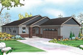 Farmhouse Elevations by Ranch House Plans Houseplans Com Elevation Hahnow
