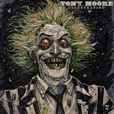 sketch of the day beetlejuice u2014 colonel tony moore