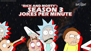 rick and morty season 3 episode 10 calculating jokes per minute
