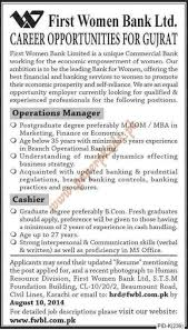 operations managers and cashier jobs paperpk operations jobs cover