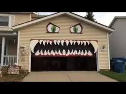 Decorate Your Home For Halloween Best 25 Halloween Garage Door Ideas On Pinterest Garage Door