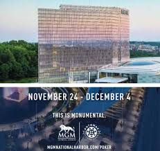 how many poker tables at mgm national harbor mgm national harbor announces 2017 potomac poker open poker news