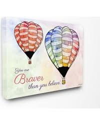 deal alert stupell home d礬cor watercolors you are braver air