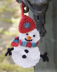 olaf the snowman crochet ornament pattern crochet kingdom
