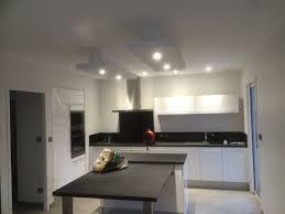 plafond de cuisine plafond déco plafond ruban led descente sur ilot cuisine sarl