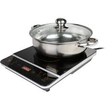Induction Cooktop Temperature Settings Rosewill 1800 Watt 8 Temperature Setting Gold Black Induction