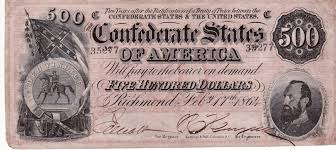 Flag Confederate States Of America Currency Collection