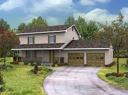 two story house plans with front porch two story house plans craftsman decohome